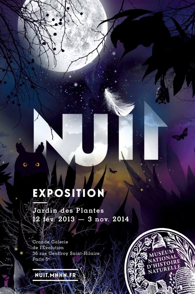 Affiche exposition Nuit