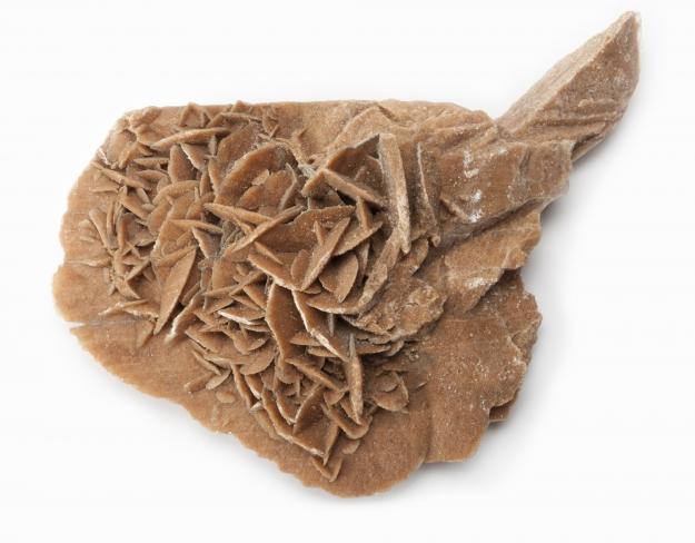 Gypse rose des sables © MNHN - Bernard Faye