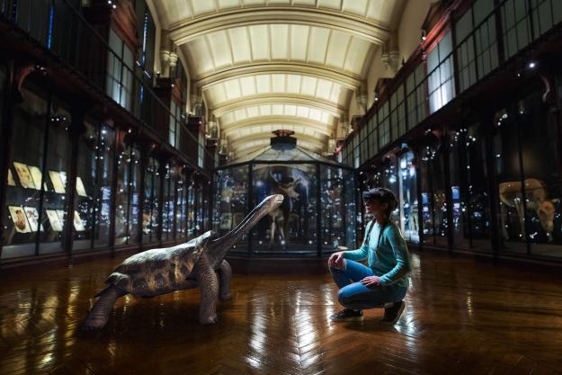 Revivre, les animaux disparus en réalité virtuelle - Tortue géante de Rodrigues © SAOLA Studio - MNHN
