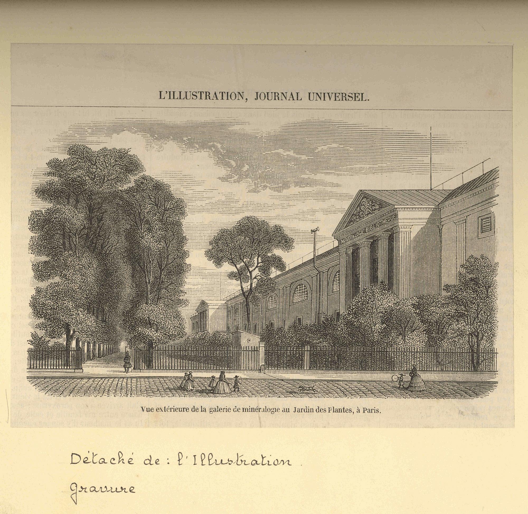 Photo De Galerie Exterieur history of the galerie de minéralogie (mineralogy gallery